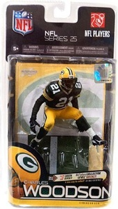 McFarlane Toys NFL Sports Picks Series 25 Action Figure Charles Woodson (Green Bay Packers) Green Jersey Bronze Collector Level Chase by McFarlane Toys