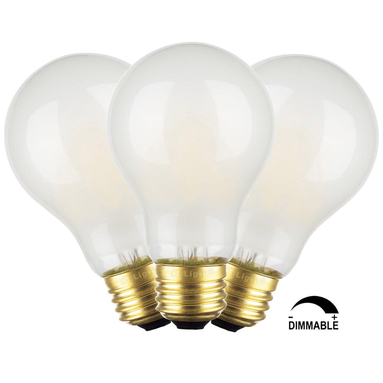 Edison Vintage 110v E26 E27 A19 A60 40w 60w Equivalent: Online Store: Crlight 6w Dimmable Edison Style Vintage Led