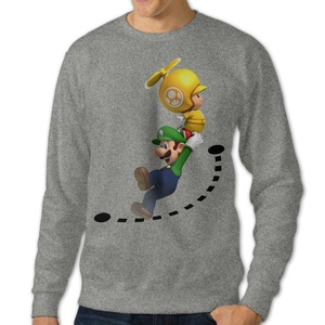 NUBIA Men's Mario 7th Fashion Sweater Ash XL