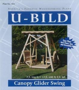 U-Bild 818 Canopy Glider Swing Project Plan by U-Bild