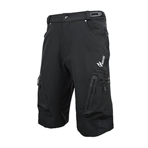 ARSUXEO men outdoor sports MTB Downhill cycling Mountain bike bicycle shorts Black M by ARSUXEO