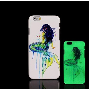 For iPhone 7 Plus Case, Glow in the Dark Sex Girl Fun Pattern TomCase Fluorescent Back Cover for iPhone 7 Plus Case 5.5 inch, P9