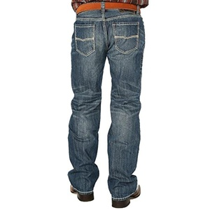 Rock N Roll Cowboy Mens Men Double Barrel Straight 40x36 Denim