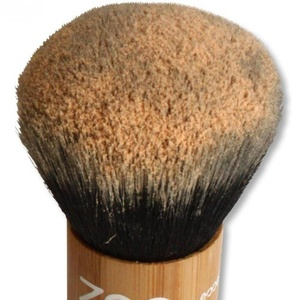 ZAO Kabuki Makeup Powder Brush Made of Bamboo for Natural Cosmetics by Zao Organic Makeup