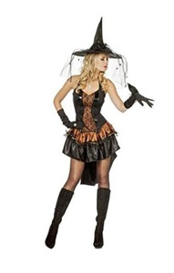 Wilbers Ladies EU 36/ UK 8/10 and US 4/6 Witch of Zorro Costume by Wilbers