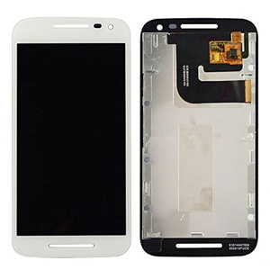 New White Motorola Moto G 3rd Touch digitizer Glas+LCD Display Assembly