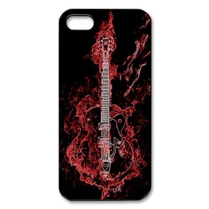 Case for IPhone SE,Case for iPhone 5,Case for iPhone 5S,Case Cover for iPhone 5,Case Cover for iPhone 5S,Guitar Design Rubber Cover Protective Case for iPhone 5 5S SE