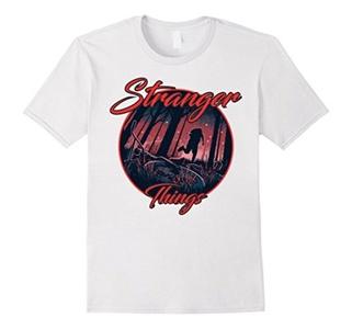 Men's STRANGER THAN THINGS Tee T-Shirt XL White