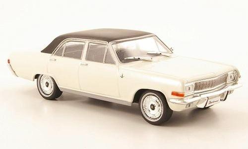 Opel Diplomat A, weiss/schwarz (ohne Magazin), 1968, Modellauto, Fertigmodell, SpecialC.-40 1:43 by SpecialC.-40