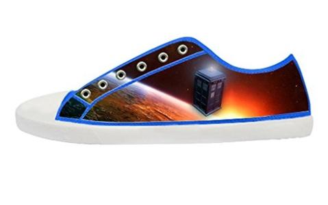 Movie Doctoc Who Men's Low Top Canvas Shoes-7M(US)