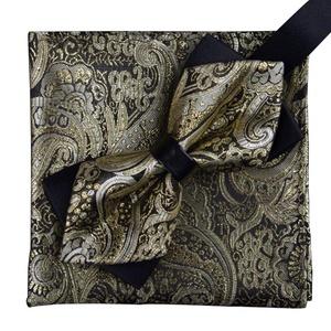 Men's Business Suits Tie& Pocket Towel Wedding/Party Bow Tie Set Best Gift-A11