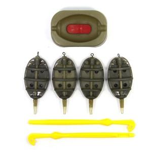 SAMS Inline Method Feeder Fishing and Plastic Loop Tyer Hook Disgorger Remover Carp Fishing Accessories