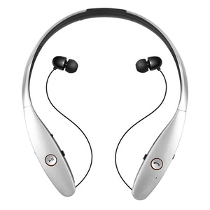 Wireless Bluetooth Headset Stereo Music Headphone Sport Earphone Bluetooth V 4.0 for Lg Apple Iphone Samsung HTC Bluetooth Wireless Stereo Headset(Silver)