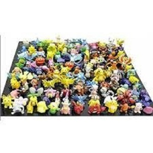 Fun Brick TM Complete Set Pokemon Action Figures (144 Piece)