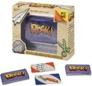 Out Of The Box Rock! Travel Game To Go Tin by Out of the Box
