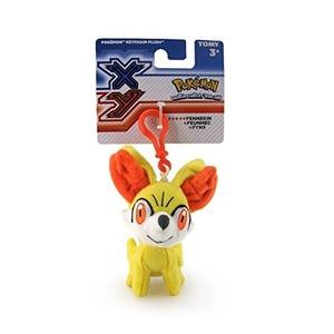 Tomy Pokemon XY 3.5 Plush Keychain Froakie, Chespin or Fennekin (one supplied) by Pokemon XY