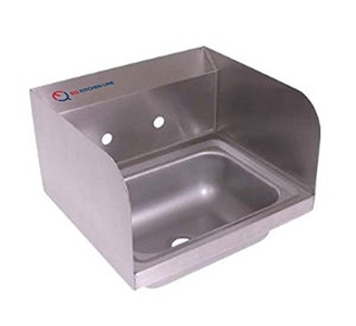 New Compartment Sink Kitchen Commercial Stainless Steel Silver 15-3/4