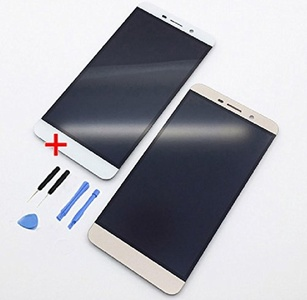 For Letv X800 Le One Pro Le 1 Pro LCD Display Screen+Front Touch Digitizer Glass Sensor+Sticker+Kits (Gold)