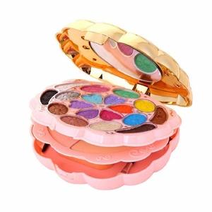 Orangeskycn 18 Color Makeup Eyeshadow+2 Color Powder+1 Color Blush+5 Color Lipstick Set (B)