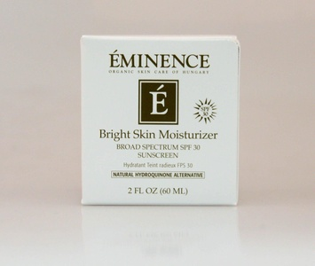 Eminence Bright Skin Moisturizer 2oz Care the Skin