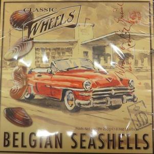 Classic Wheels Belgian Seashells (250g)