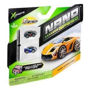 X Concepts Nano Speed Nano Vehicles 2 pack (Colors & Styles Vary) Novelty by Nano Speed