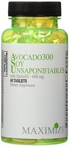 Maximum International Avoc300 Soy Unsaponifiables with Sierrasil, 60 Tabs by Maximum International