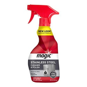 Magic Stainless Steel Cleaner, 14 fl oz by Magic