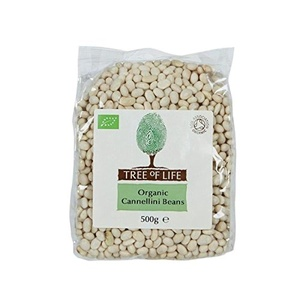 Tree of Life Organic Cannellini Beans 500g - Pack of 2