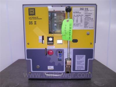 DSII-516 - 1600A SQD DSII-516 MO/DO UNUSED SURPLUS