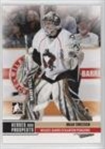Brad Thiessen (Hockey Card) 2009-10 In the Game Heroes and Prospects #156