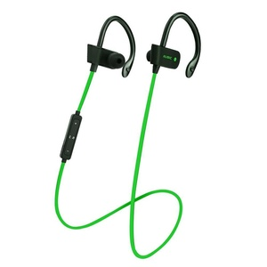 Original Sports Wireless Bluetooth Earphones Stereo Earbuds Headset Headphones with Mic in-ear ( Green )