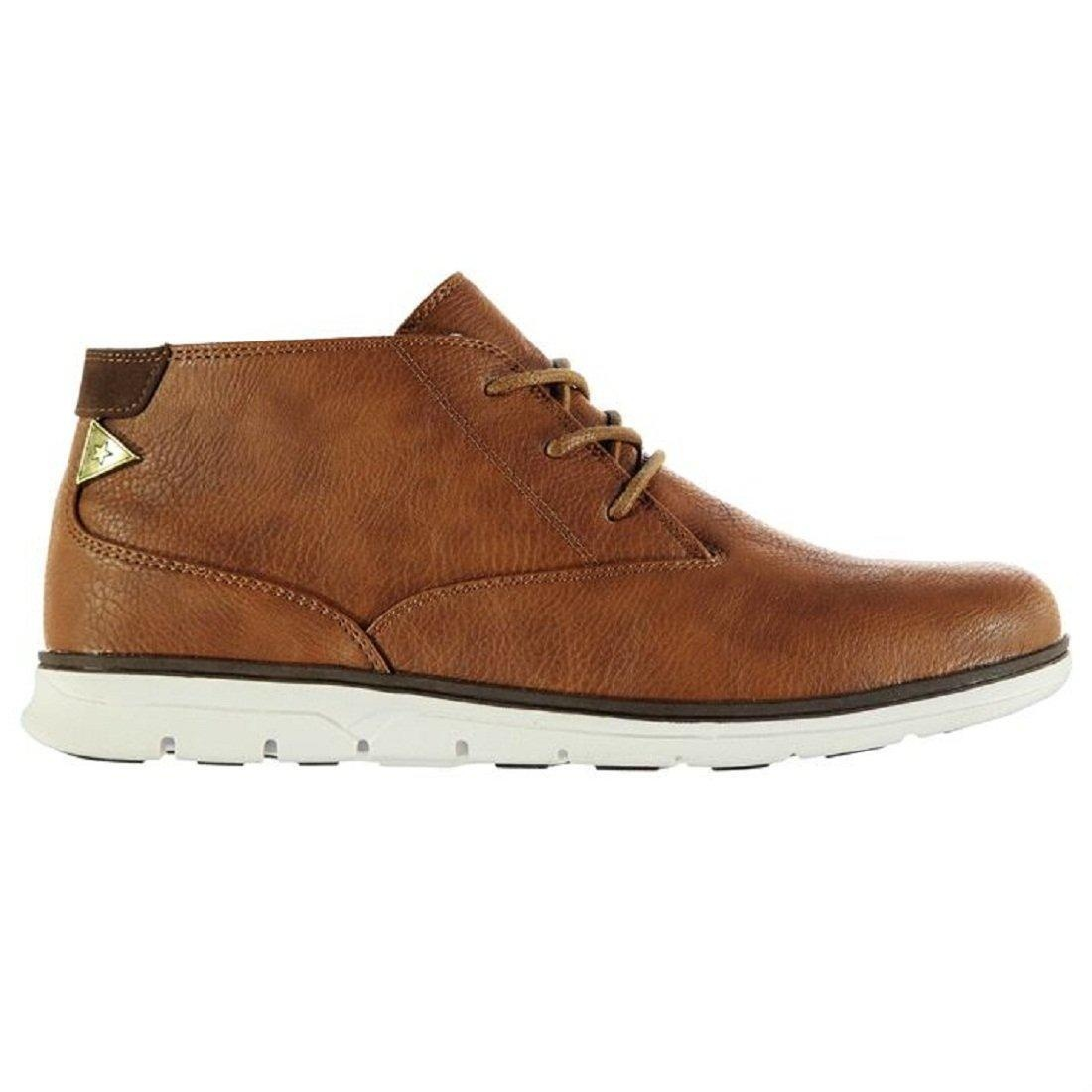 Mens Soviet Illinois Casual Boots Shoes Tan (UK 7 / US 7.5)
