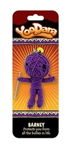 Dimension 9 Barney YooDara Good Luck Charm Toy by Dimension