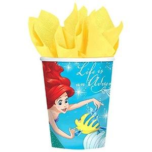 Ariel the Little Mermaid 'Dream Big' 9oz Paper Cups (8ct) by The Little Mermaid