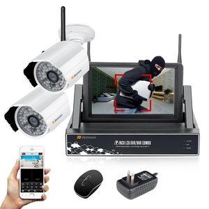 Jennov Plug and Play Wireless Security Camera System With HD 4CH 7