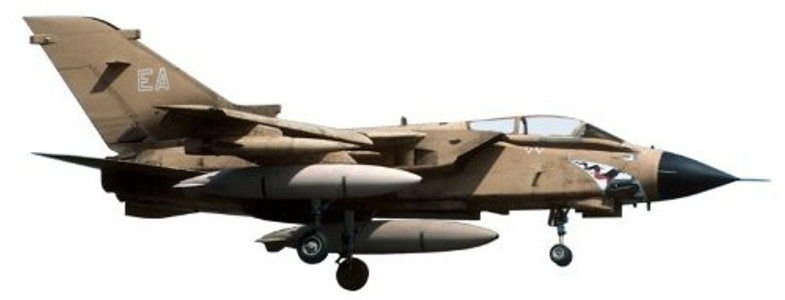 Herpa 1-200 Scale Military HE554473 Raf Panavia Tornado 1-200 No 15 Sqn MIG-EATER by Herpa 1/200 Scale Military