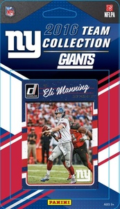 New York Giants 2016 Donruss Factory Sealed Team Set with Eli Manning, Odell Beckham, Lawrence Taylor, Eli Apple Rookie Card plus