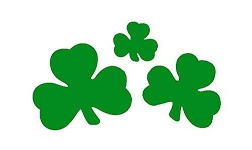 Shamrock St Patricks Day Irish 3' X 2' 3ft x 2ft Flag With Eyelets Premium Quality by 3Ft x 2Ft Flag