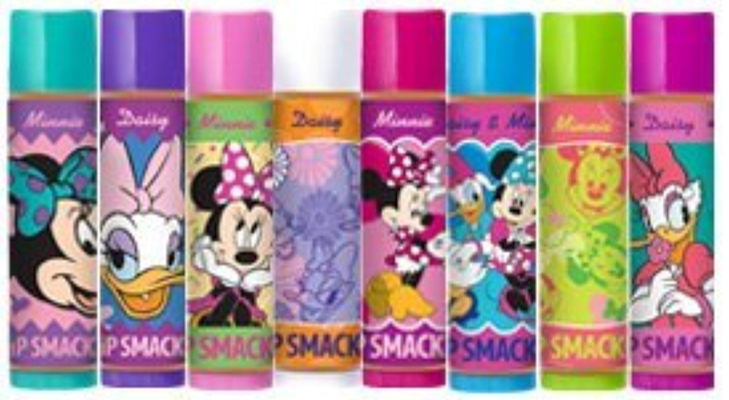 Lip Smackers Disney Minnie and Daisy Party Pack (8 Pieces Per Pack) by Bonne Bell