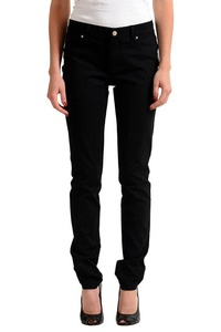 Versace Jeans Black Women's Slim Fit Jeans