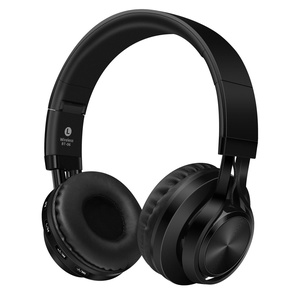 TonTech Bluetooth Headphone, Wireless Foldable On-Ear Bluetooth 4.0 Headset with Built-in Mic Handsfree Noise Cancelling for All Bluetooth Enabled Devices - Support TF Cards and FM Radio