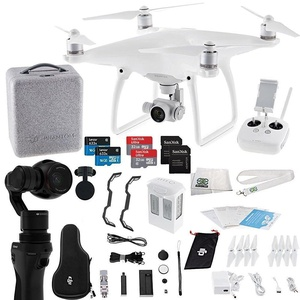 DJI Phantom 4 Quadcopter + Osmo Videographer Starters Bundle