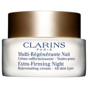 Clarins Extra-Firming Night Rejuvenating Cream - All Skin Types, 50ml by Extra-Firming Night Rejuvenating Cream - All skin types 50ml - Clarins
