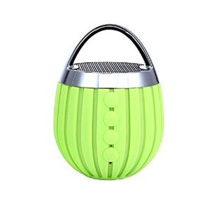 Wireless Bluetooth Speakers Portable Outdoor Card Mini Subwoofer , green