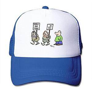 Unisex Crackpot Cartoon Politics Funny Figure Adjustable Mesh Caps Snapback Hats