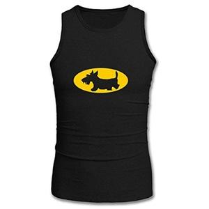 Scottie Dog1 for Men Printed Tanks Tops Sleeveless T-shirt