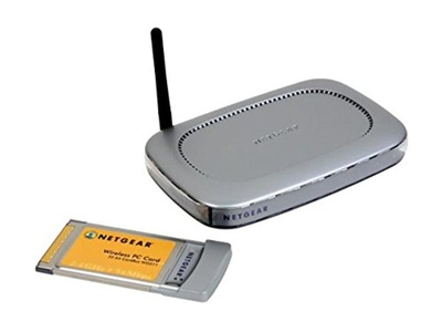 NETGEAR WGB511 54 Mbps Wireless Router(WGR614) and PC Card(WG511) Kit IEEE 802.11b\g