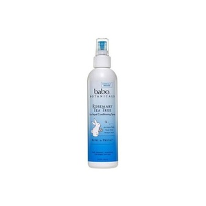 2Pack! Babo Botanicals Lice Repel Conditioning Spray Rosemary - 8 fl oz