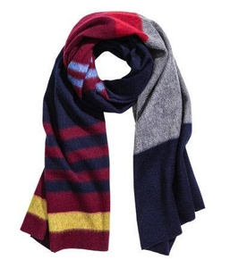 Hm Striped Wool Scarf